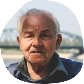 Doug, 81-year-old patient